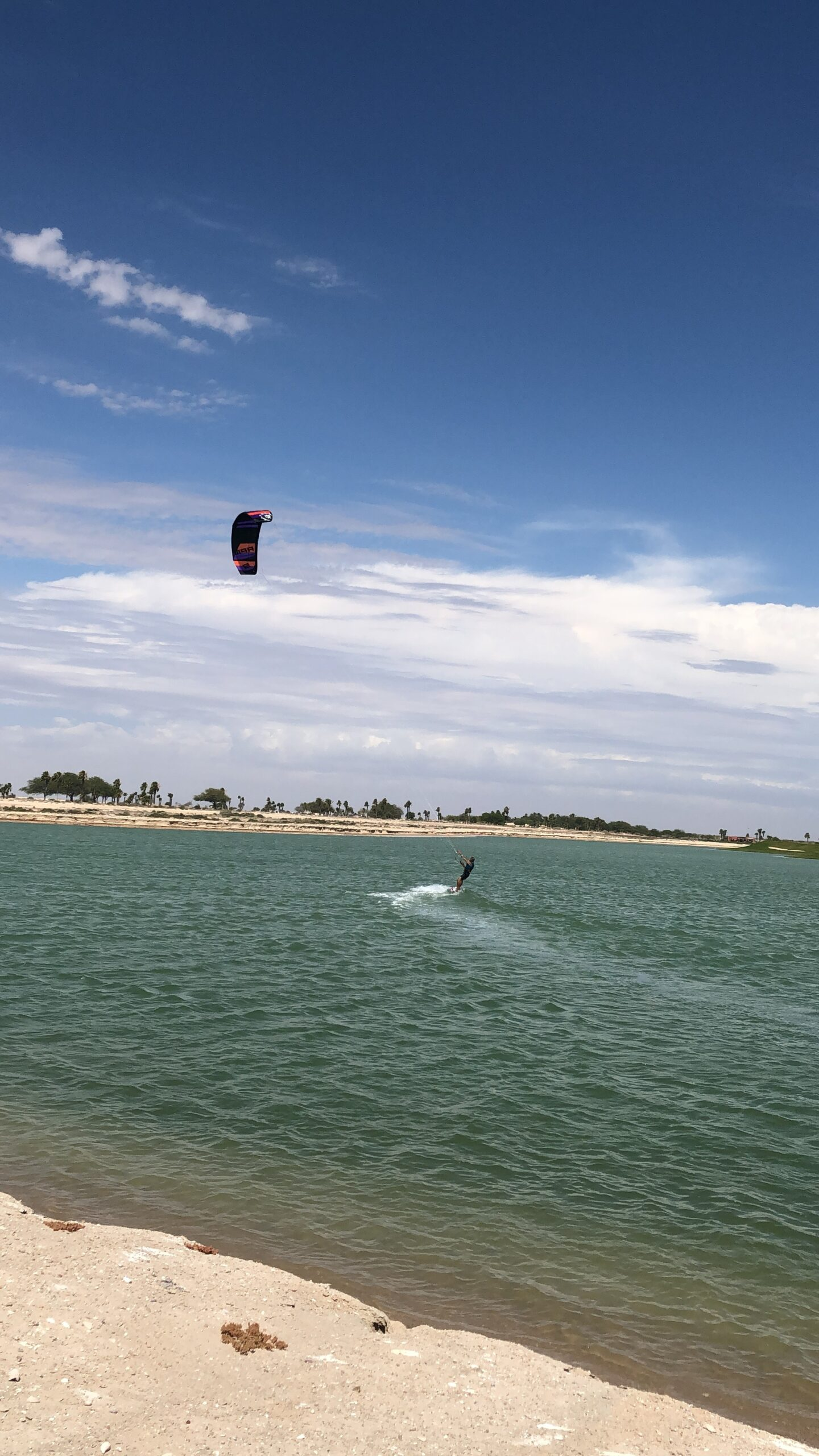 Rocky Point Kite Surfing training in Mexico